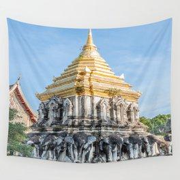 Wat Chiang Man I, Chiang Mai, Thailand Wall Tapestry
