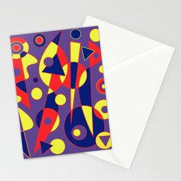 Abstract #993 Stationery Cards