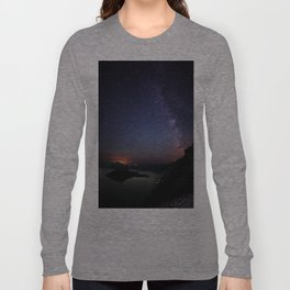 Crater Lake Galaxy Long Sleeve T-shirt