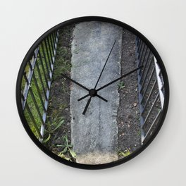 12th Century Crusaders Grave Wall Clock
