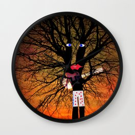 Jimi Rock Wall Clock
