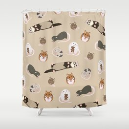 small pets Shower Curtain