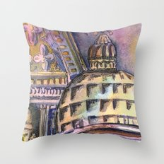 St. Marks Cathedral in Venice Throw Pillow