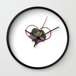 Lorelai and Luke Wall Clock