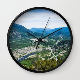 Squamish, BC. Wall Clock