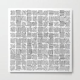 001 Metal Print