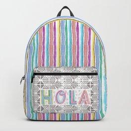 Hola Triangles Backpack