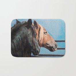 Caballos/Cabalos/Horses Bath Mat