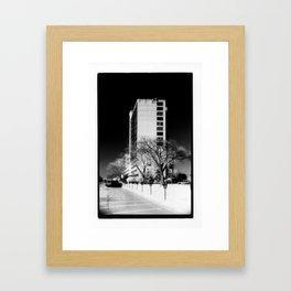 Building In The Sky Framed Art Print