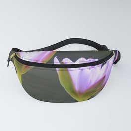 Bee and Waterlilies  Fanny Pack