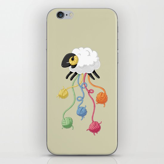 Wool Thread iPhone & iPod Skin