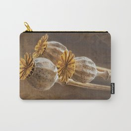 Poppy capsule Carry-All Pouch