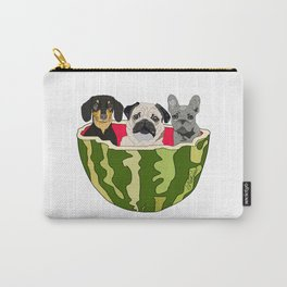 Watermelon Dogs Carry-All Pouch