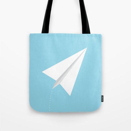 #38 Paperplane Tote Bag