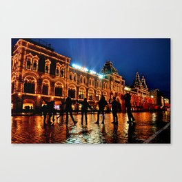 Red Square November Canvas Print
