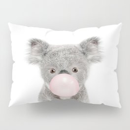 Bubble Gum Baby Koala Pillow Sham