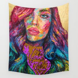 Love Me Wall Tapestry