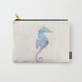 AFE Watercolor Seahorse Carry-All Pouch
