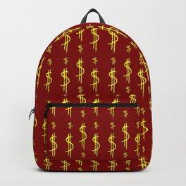 Symbol of dollar 2 Backpack