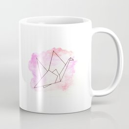 Grue Origami Coffee Mug