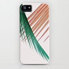 Palm Leaves, Tropical Plant iPhone Case