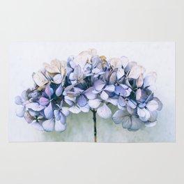 Delicate Hydrangea Rug