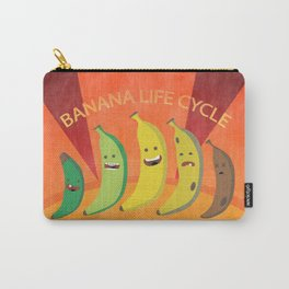 Banana Life Cycle Carry-All Pouch