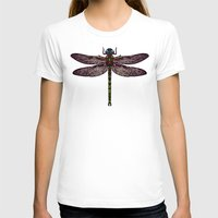 dragonfly T-shirts featuring dragonfly by Sharon Turner