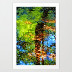 Reflections of Life Art Print