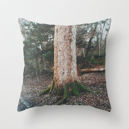 Glasgow Tree Throw Pillow