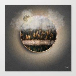 Portal Bosque Canvas Print