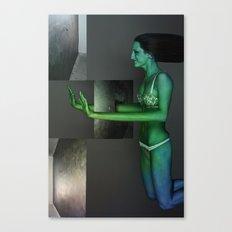Human abstract 1 Canvas Print