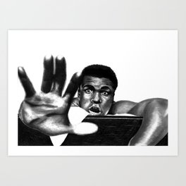 the greatest to ever do it Art Print