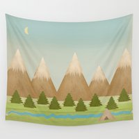 twilight Wall Tapestries featuring Twilight by Tammy Kushnir