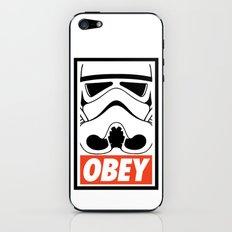 OBEY Storm Trooper  iPhone & iPod Skin