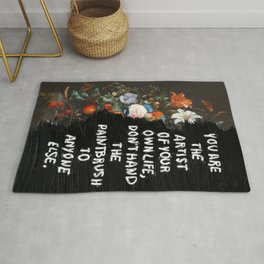 YOU ARE THE ARTIST  Rug