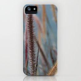 Fuzzy Reeds iPhone Case