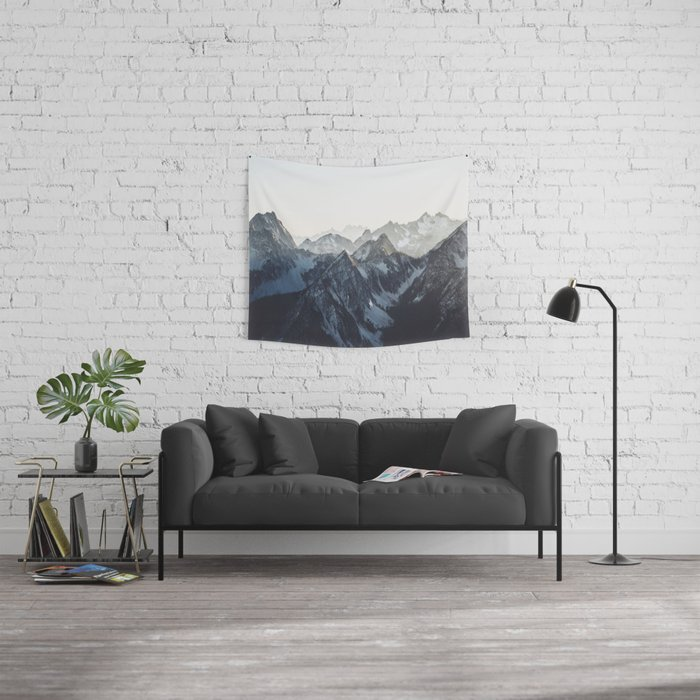 Mountain Mood Wandbehang