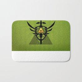 Zelda Link Triforce Bath Mat