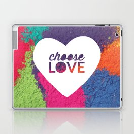 Choose Love Heart Quote Print Laptop & iPad Skin
