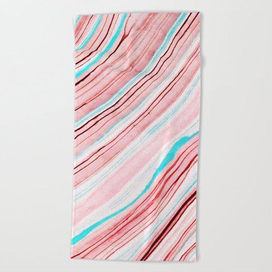 Between the Lines #society6 #dcor #buyart Beach Towel