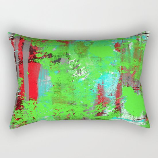 Colour Injection I Rectangular Pillow