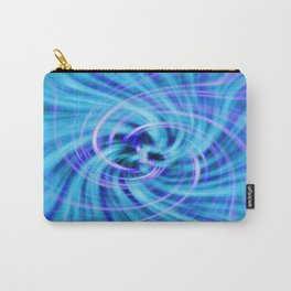 Blue twirl Carry-All Pouch