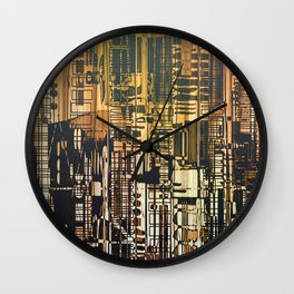 Density / Urban Wall Clock