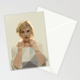 Blonde Summer Stationery Cards