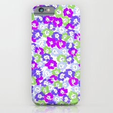 Morning Glory - Violet Multi Slim Case iPhone 6s