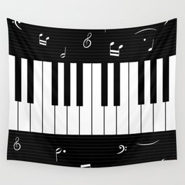 Piano Background - 06 Wall Tapestry