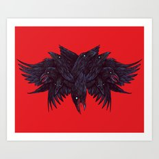 Crowberus Art Print