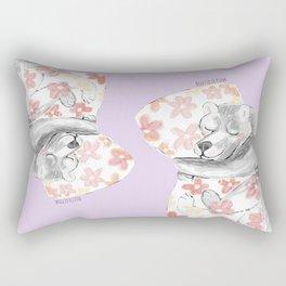Would you be my sleepy bear? #3 Rectangular Pillow