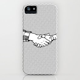 Man and Machine iPhone Case